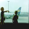 Vakantie naar Munster in Tirol - 12/8 t/m 26/8 1978.<br /> Heenvlucht met LH097 naar Munchen.