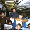 1985 02 Met Robert Merhottein, Jan Pieter Maks, Hendrik Jan Baljet en .....