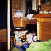 1983 Michel in ons ruilhuis in Valthe (Drente).