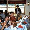 1985 08 Gary Meyer (GE) naast Mogens Friis (SK) die in gesprek is met Fred Vroomans.