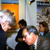 1986 06 Ria en Renger de Ruijter van de LOVW op de Vakantiebeurs in Utrecht.