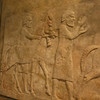 These giant carved panels were on either side as you were approaching the kings throne room, the kings warriors on the left