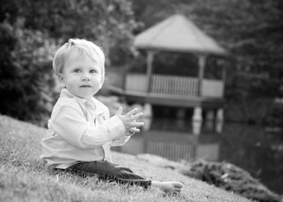 Ethan on Grass crop bw (1 of 1)