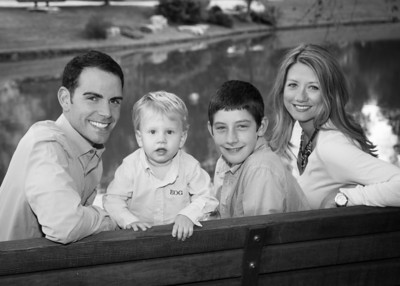 fam on bench crop bw (1 of 1)