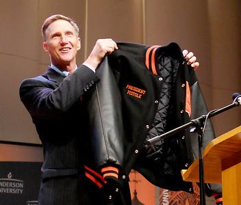 Anderson University elects John Pistole as fifth president.