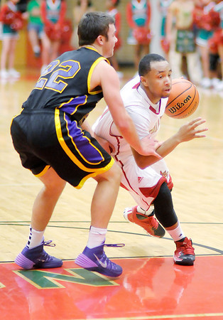 Don Knight / The Herald Bulletin<br /> Anderson hosted Guerin Catholic on Friday.