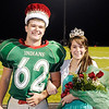 Don Knight/The Herald Bulletin<br /> Weston Bell and Danielle Vorhees were crowned Homecoming King and Queen as Anderson hosted Marion on Friday.
