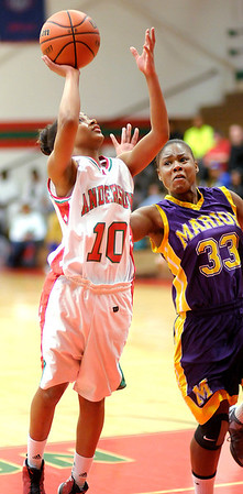 Anderson hosted Marion on Saturday.