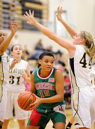 Anderson faced Mt. Vernon on Tuesday.