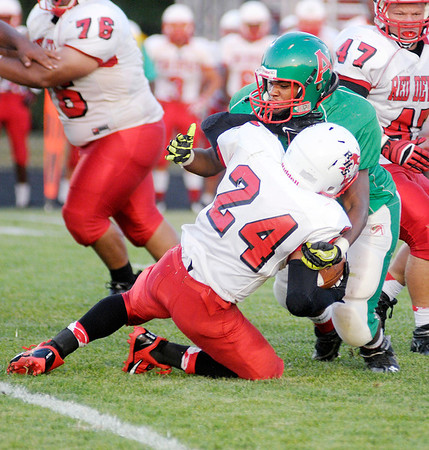 Don Knight/The Herald Bulletin<br /> Anderson hosted Richmond on Friday.