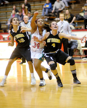 Don Knight / The Herald Bulletin<br /> Anderson faced Mt. Vernon in the sectional championship at Connersville on Saturday