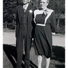 "Levi and Alma.<br /> - ""1945"" :: (written on print)."