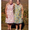 "Mabel on the right.<br /> - Who is the other woman?<br /> - - processing stamp on original photo: ""Aug 70""."