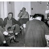"Fred  --  Levi  --  ?  --  Stan  --  Jim.<br /> - Stamp on print :: ""Feb 56""."