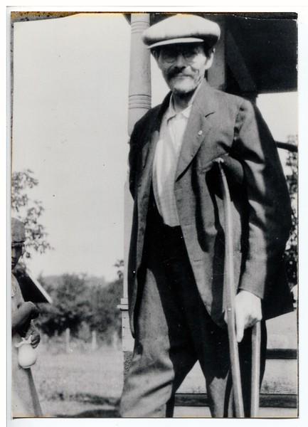 Andrew N. Anderson  --  Spring Valley, Wisconsin  --  circa 1925