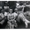 "Fred, Rose Fredine, Rudy Fredine and ?.<br /> <br /> ""JUL - 60"" stamped on photo."