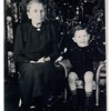 John Gaustad says this is his (and Jeanne's) Grandmother, Anna M. Anderson.<br /> - Laurie says the boy is Billy Brown.