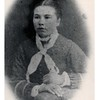 Anna Margaret Johnson Anderson  ; 1869-1943.<br /> - Fred's Mother.<br /> - - Jeanne's Grandmother.