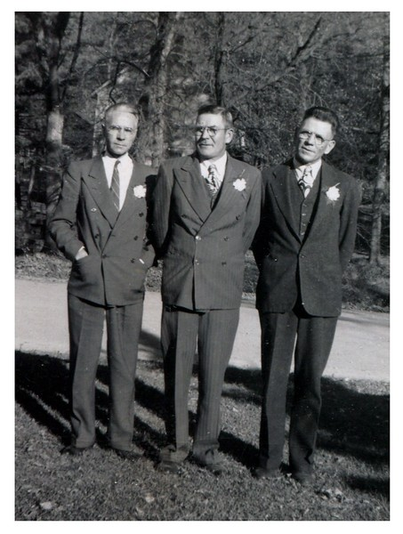 Emil Gaustad  --  Fred Anderson  --  Levi Anderson.