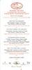 Le Cirque 40th.Anniversary menu