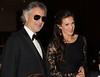 Andrea Bocelli and wife Veronica Berti<br /> photo by Rob Rich/SocietyAllure.com © 2014 robwayne1@aol.com 516-676-3939