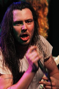 Andrew W.K. at the Bluebird Theater in March 2012. Photos by Michael McGrath, heyreverb.com.