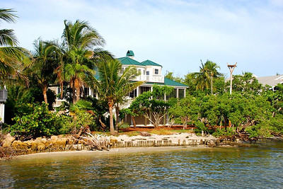 Andrew's bayfront home