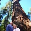 Davy and Sarah at the big trees