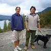David and Andy at Bass Lake