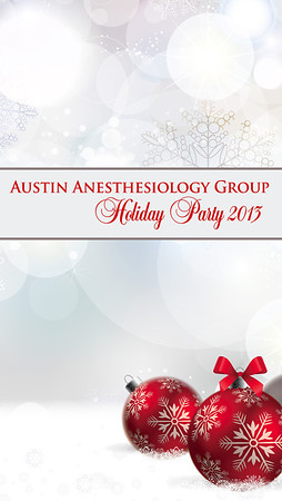 Anesthesiology Group Holiday 2013