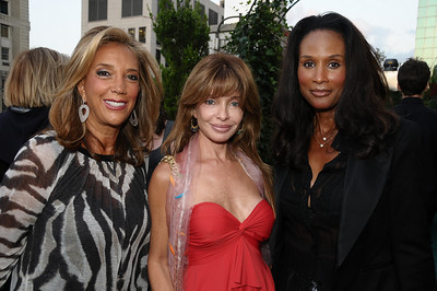 Denise Rich, Marjorie Andre, Beverly Johnson photo by Rob Rich © 2009 robwayne1@aol.com 516-676-3939
