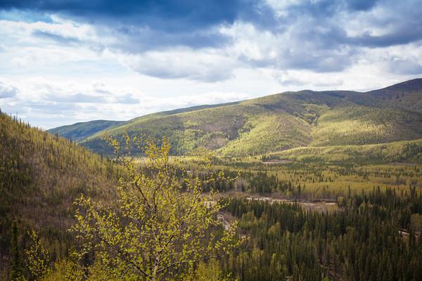 Angels Rock Trail Chena River, Alaska State Recreation Area