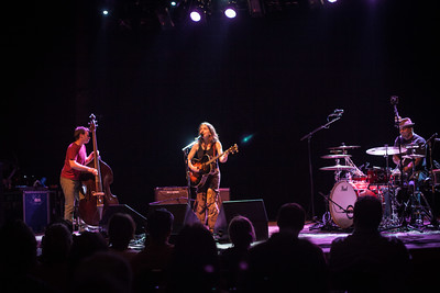 Ani DiFranco performs with Toshi Reagon at the Boulder Theater on Oct. 13, 2013. Photos by Josh Elioseff, heyreverb.com.