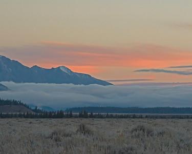 Tetons Before Sunrise