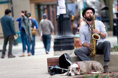 Tenor Sax Player in Ann Arbor