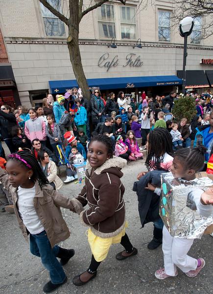 Festifools Parade in Ann Arbor