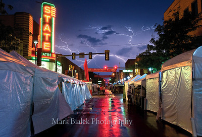 2010 Ann Arbor Art Fair.  © Mark Bialek