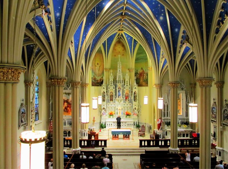 St Marys Catholic Church Annapolis MD 2012 Copyright Sue Steinbrook