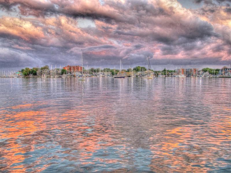 April Showers 2011 Annapolis City Dock Copyright Sue Steinbrook
