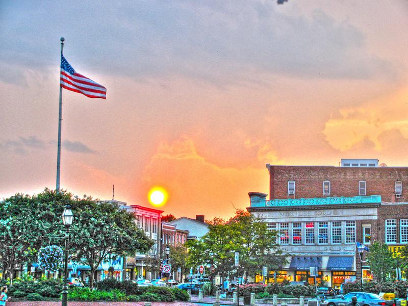 Summer Sunset 2011 Copyright Sue Steinbrook