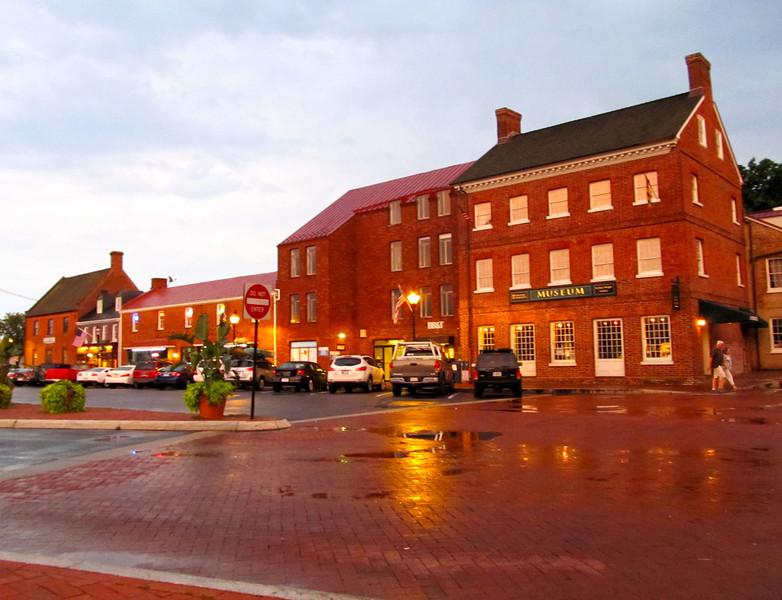 July 10, 2012 after rainstorm. Copyright Sue Steinbrook