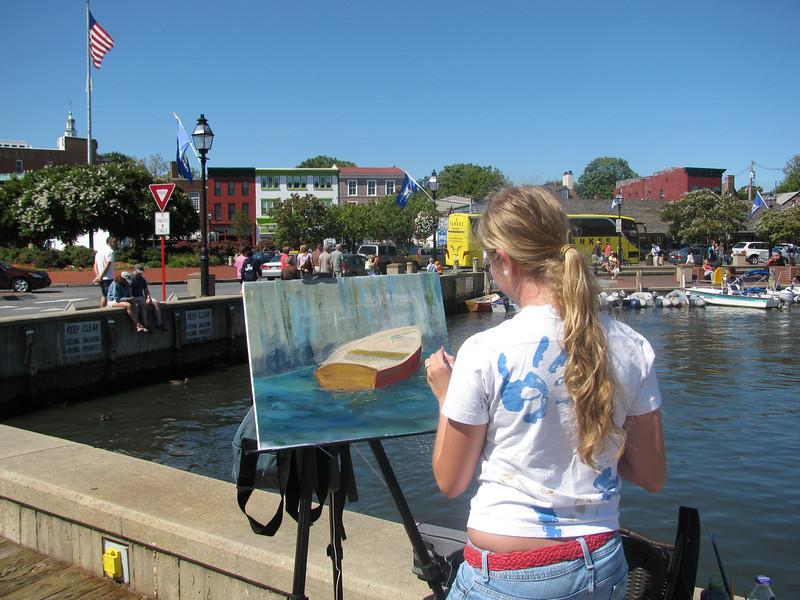 Paint Annapolis 2009 , Copyright Sue Steinbrook