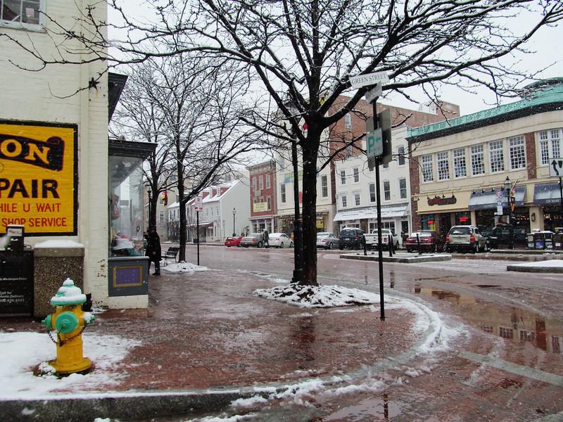 Winter in Naptown
