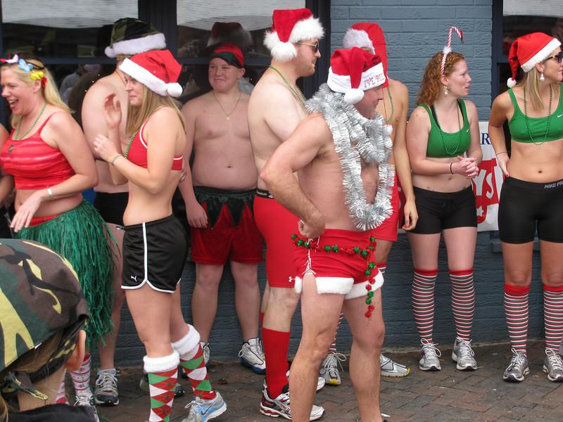 Santa Speedo Run 2011