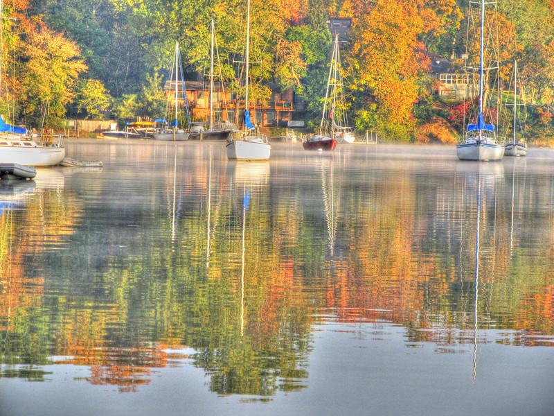 Fall on Weems Creek 2012
