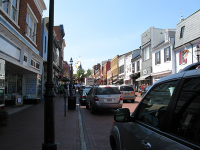 Pretty city streets of Annapolis