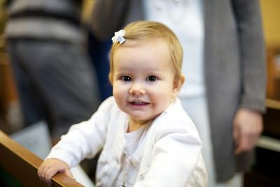 Anna's Baptism - Feb 2011