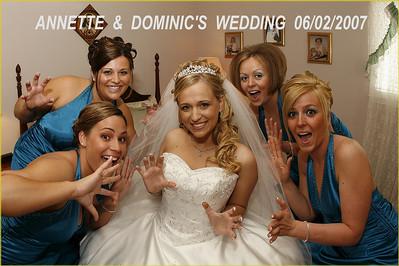 Annette  &  Dominic's  Wedding  06/02/2007