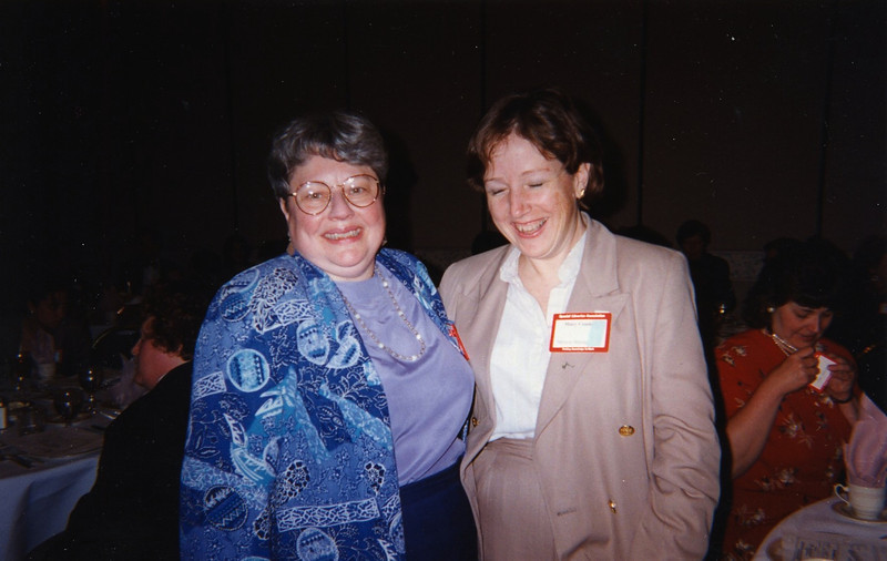 Susan Abusch and Mary Condon