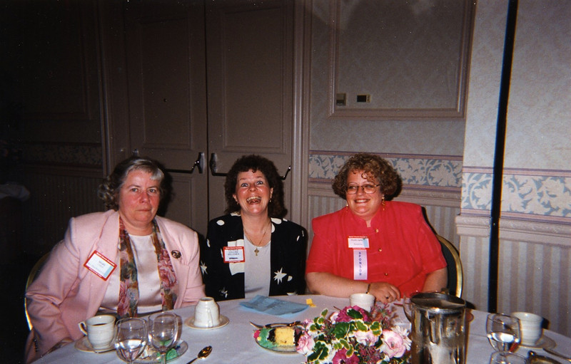 Mary Lydon, Patricia Collins Kelleher, and Phyllis Spillare